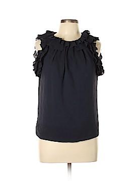 Leifsdottir Short Sleeve Silk Top Size 10