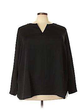 Nic + Zoe Long Sleeve Blouse Size 3X (Plus)