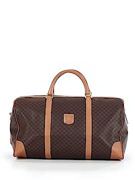 Céline Leather Weekender One Size