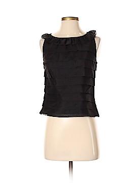Etcetera Sleeveless Silk Top Size 4