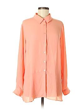 Joan Rivers Long Sleeve Blouse Size M