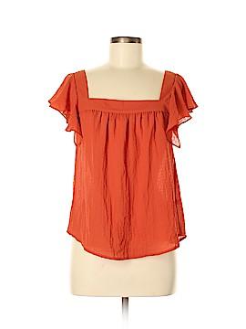 Melissa Paige Short Sleeve Blouse Size S (Petite)
