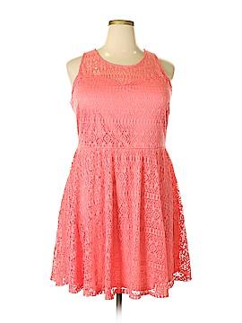 Three Hearts Casual Dress Size 2X (Plus)