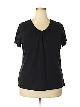 Fashion Bug Short Sleeve Top Size 1X (Plus)