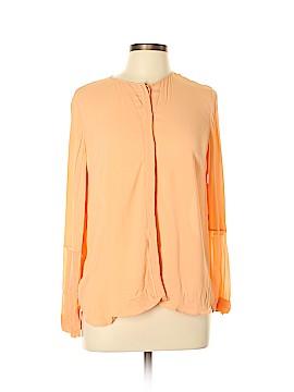 Massimo Dutti Long Sleeve Blouse Size 10