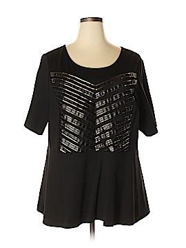 ELOQUII Short Sleeve Blouse Size 26 (Plus)