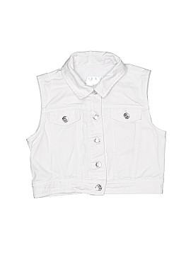 Justice Denim Vest Size 8 - 10
