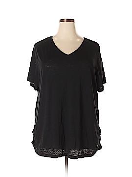 Danskin Now Short Sleeve T-Shirt Size 4X (Plus)