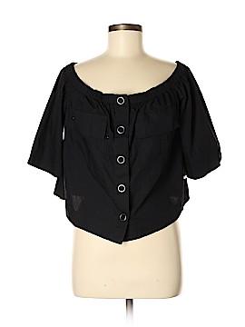 Free People Short Sleeve Blouse Size M