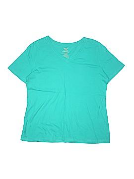 Faded Glory Short Sleeve T-Shirt Size 1X (Plus)