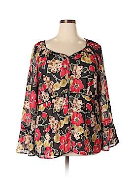 Venezia Long Sleeve Blouse Size 22 - 24 Plus (Plus)