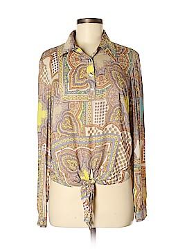 Tahari Long Sleeve Blouse Size M