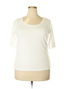 Jones New York Sport 3/4 Sleeve T-Shirt Size 1X (Plus)