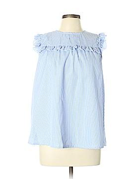 Grifflin Short Sleeve Blouse Size L