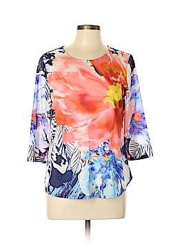 Christopher & Banks 3/4 Sleeve T-Shirt Size L (Petite)