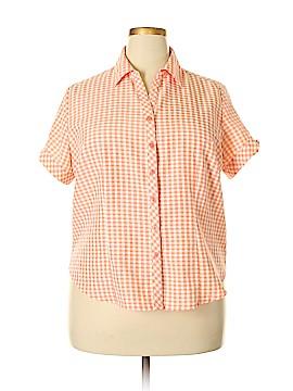 Joanna Short Sleeve Blouse Size 1X (Plus)