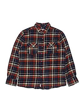 Micros Long Sleeve Button-Down Shirt Size 14 - 16