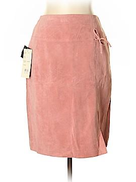 Bernardo Leather Skirt Size 10