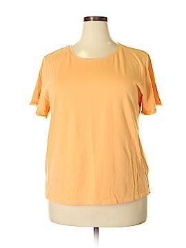 Sigrid Olsen Short Sleeve T-Shirt Size 2X (Plus)