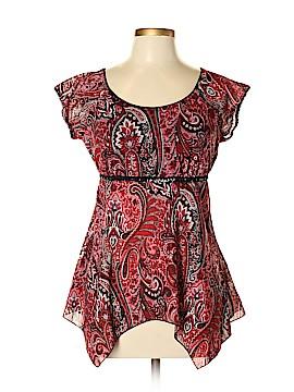Fashion Bug Short Sleeve Blouse Size XL
