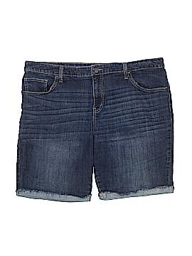 Ava & Viv Denim Shorts Size 20 (Plus)