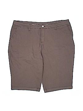 Style&Co Khaki Shorts Size 22W (Plus)