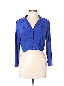 Csc studio Long Sleeve Button-Down Shirt Size L