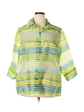 TanJay 3/4 Sleeve Blouse Size 22 (Plus)