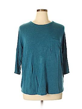 Lou & Grey 3/4 Sleeve T-Shirt Size XL