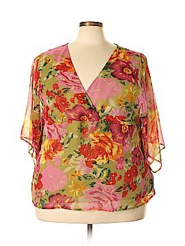 Nolita 3/4 Sleeve Blouse Size 3X (Plus)