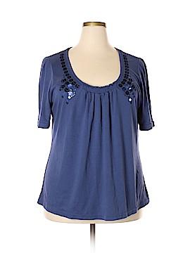 L.A. Blues Short Sleeve Top Size 22 - 24 (Plus)