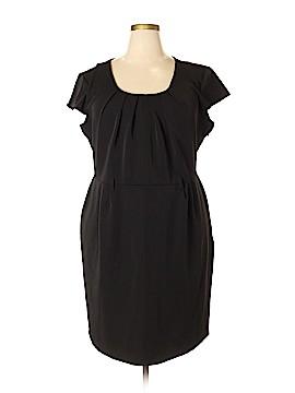 Olivia Matthews Casual Dress Size 22W Petite (Plus)