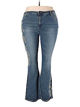 Midnight Velvet Jeans Size 20W (Plus)