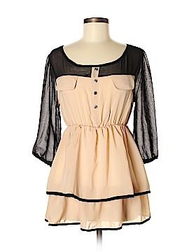 Chocolate 3/4 Sleeve Blouse Size M