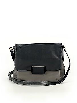 Dana Buchman Leather Crossbody Bag One Size