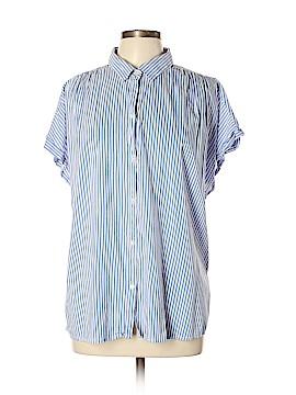 Old Navy Short Sleeve Button-Down Shirt Size XL (Tall)