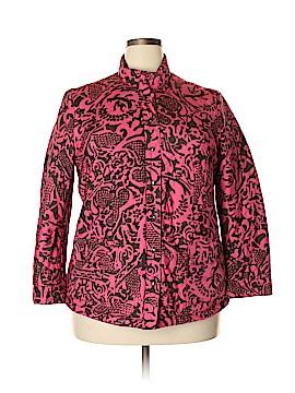 Sigrid Olsen Jacket Size 1X (Plus)