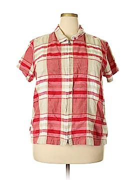 Carolina Colours Short Sleeve Blouse Size 20 (Plus)