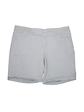 Gloria Vanderbilt Khaki Shorts Size 20W (Plus)