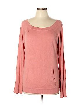 BCBGMAXAZRIA Silk Pullover Sweater Size L