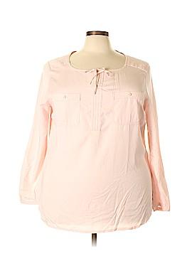 Eddie Bauer Long Sleeve Blouse Size 2X (Plus)