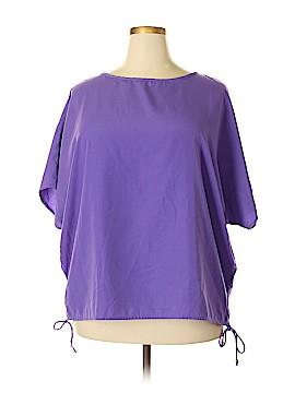 Joanna Short Sleeve Blouse Size 2X (Plus)