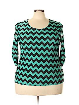 Star Vixen 3/4 Sleeve Top Size 2X (Plus)