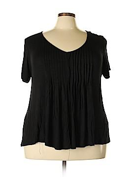 American Rag Short Sleeve Top Size 3X (Plus)