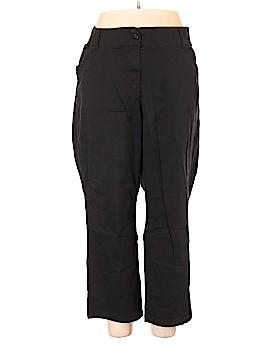 Woman Within Khakis Size 24 (Plus)