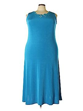 Citiknits Casual Dress Size 2X (Plus)