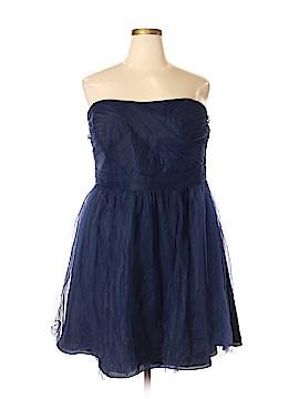 David's Bridal Cocktail Dress Size 22 (Plus)