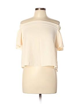 Topshop Short Sleeve Blouse Size 10