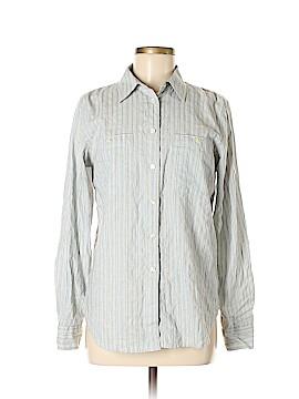 L-RL Lauren Active Ralph Lauren Long Sleeve Button-Down Shirt Size M