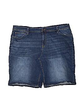 A.n.a. A New Approach Denim Shorts Size 22W (Plus)